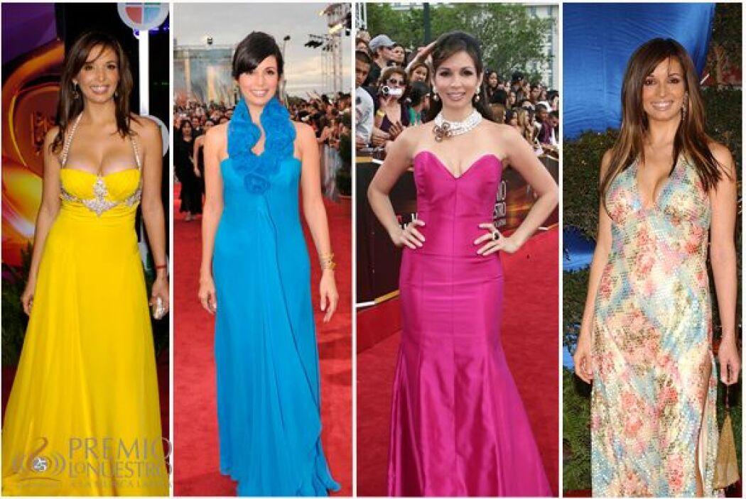 Te mostramos todos los vestidos que lució Giselle Blondet año con año en...