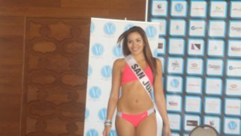 Laura Irizarry, candidata de San Juan en MIss Mundo de Puerto Rico 2014,...