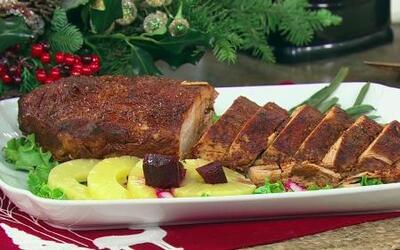 Mane y Paul cocinaron Lomo de cerdo adobado