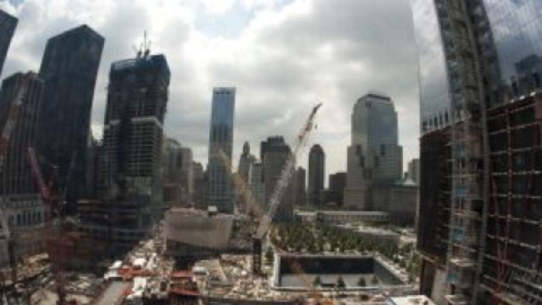 Vista de la Zona Cero 10 años tras la caída de las Torres Gemelas.
