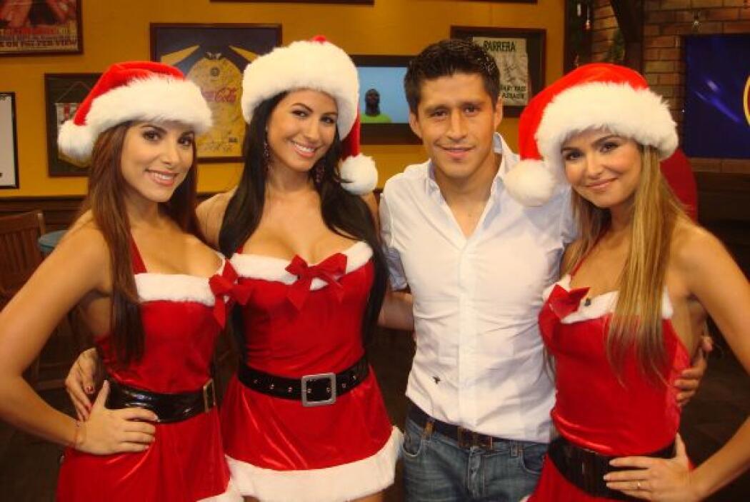 Ricardo Osorio creyó estar en el paraíso.
