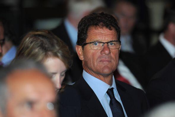 Al que se lo vio un poco solo fue a Fabio Capello, técnico de Ing...
