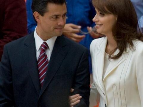 El gobernador del Estado de México, Enrique Peña Nieto, se...
