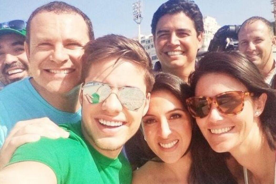 """Dia 26: Reunion en #Copacabana con mi familia #UDMundial @DespiertaAmer..."