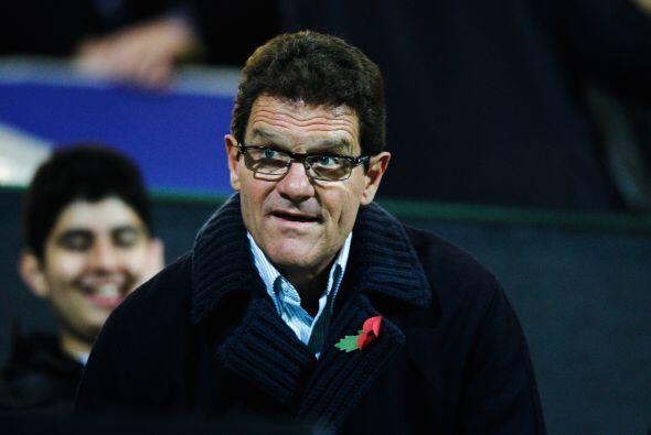 Uno que estuvo presente en el duelo fue Fabio Capello, DT de la selecci&...