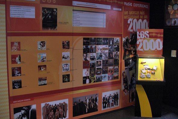 """Este a?o el museo dedico sus paredes a la musica por decadas... """"Los 2000""""."""