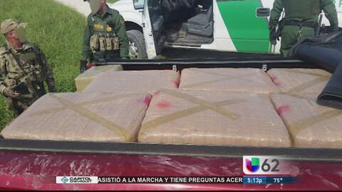 Agentes en Brownsville incautan 628 libras de marihuana
