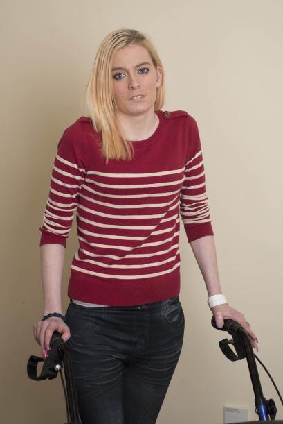 Kayla Bufton comenzó a sentir dolor en la espalda en la semana 36...