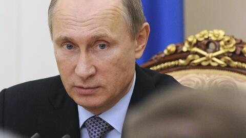 """El portavoz del Kremlin, Dmitri Peskov, calificó de """"propaga..."""