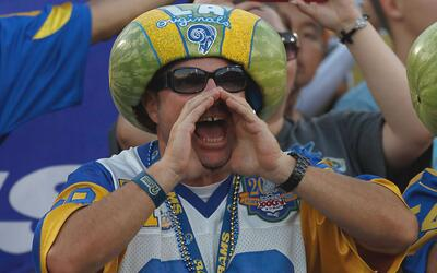 Fanático de los LA Rams
