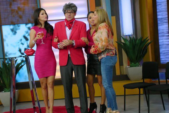 Xavi Ondo se unió al festejo de Cynthia, ella ya lo esperaba muy...