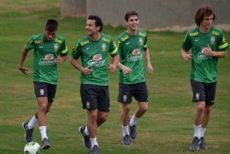 Neymar Fred y Oscar y David Luiz tienen puesto asegurado en el Mundial c...