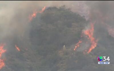 538 residentes de Duarte pueden regresar a sus casas tras incendio