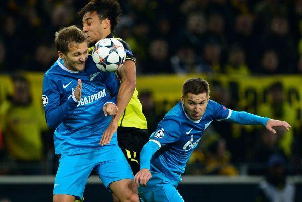 El último partido de esta ronda tuvo al Borussia Dortmund recibie...