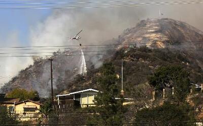 Alerta con los fuegos forestales en el centro del país