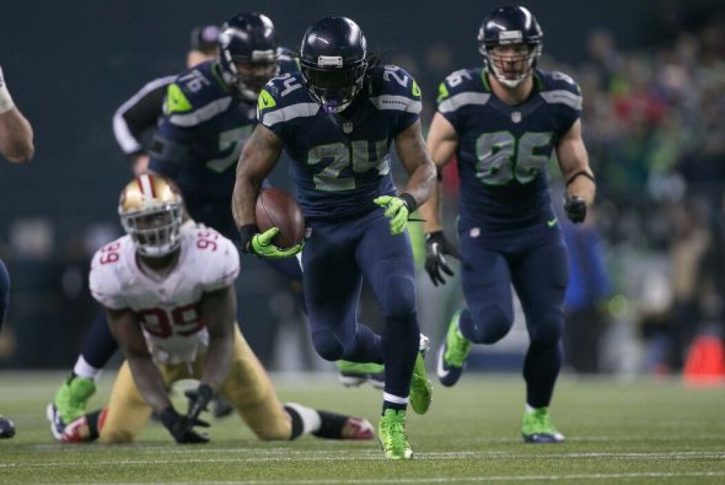 #14 RB Marshawn Lynch, Seattle Seahawks (AP-NFL).