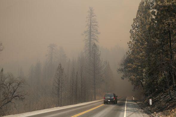 Entre ellos está un incendio forestal al oeste de Missoula que ha supera...