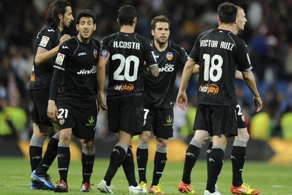 Valencia logró sacar el empate sin goles, resultado que para ello...