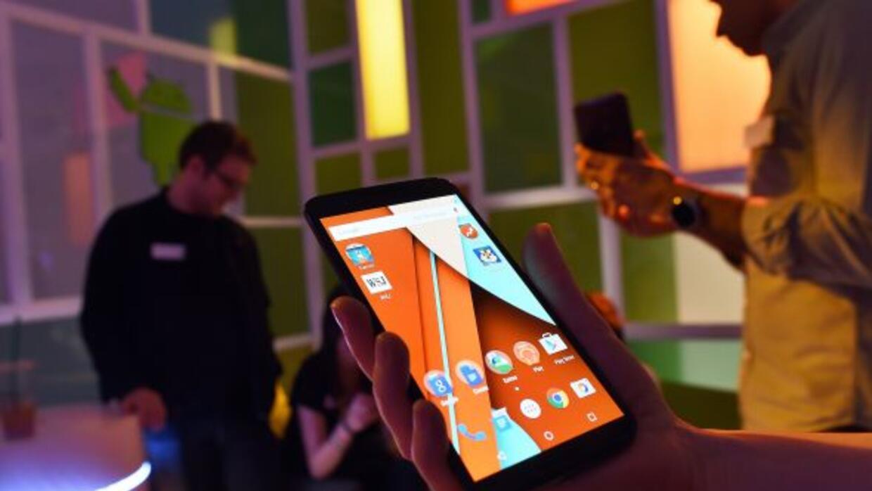 El Nexus 6 utilizará el más nuevo sistema operativo de Andorid.