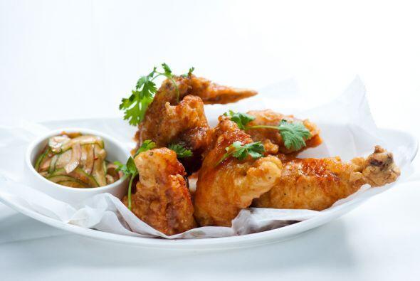 También en Michy´s es fan del pollo casero crujiente.