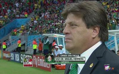 Miguel Herrera habla de la convocatoria de Erick 'Cubo' Torres