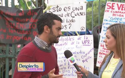 """""""Es un buen espacio para cuestionar de dónde sale el recorte a la UPR"""",..."""