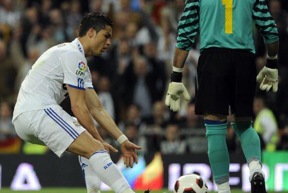 Cristiano Ronaldo pidió el balón y fue el encargado de cobrar la pena má...