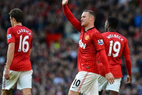 Wayne Rooney hizo lo mejor para el Manchester United y para el Stoke en...