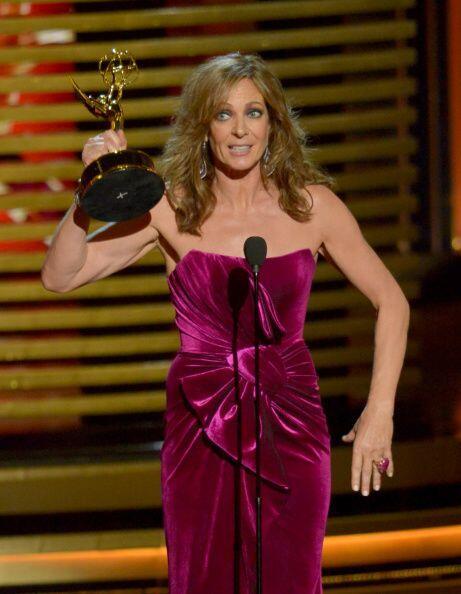 Allison Janney se alzó como la Mejor actriz de reparto de Comedia por 'M...
