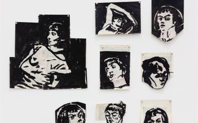 "William Kentridge ""Drawing for 'Lulu' "", 2014"