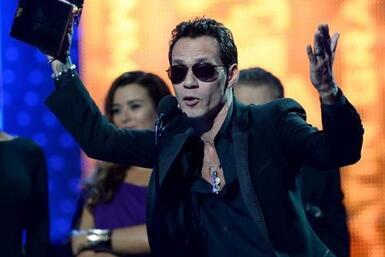 Marc Anthony es uno de los grandes triunfadores de Latin GRAMMY. Él ganó...