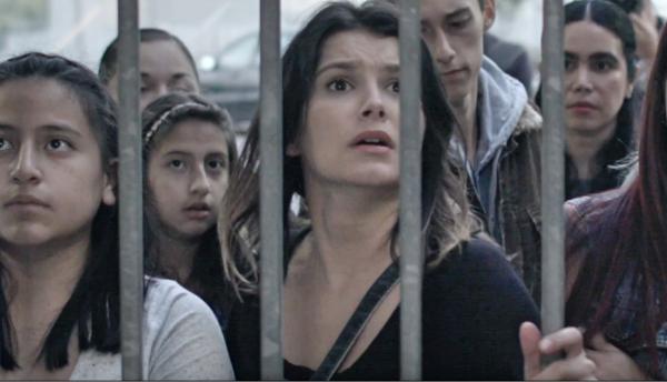 La actriz Victoria Truscott en una escena de 'Undocumented'.