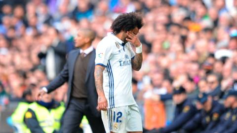 Marcelo sale lesionado