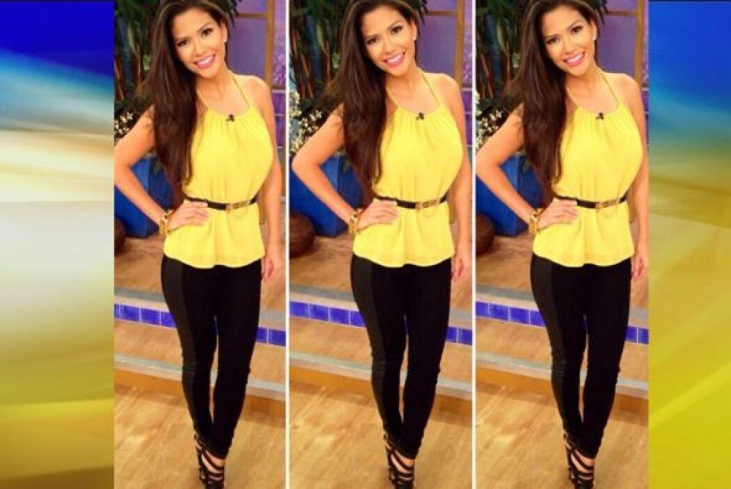 Agosto 5, 2014: Amarillo y negro. ¡qué gran combinación.