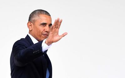 Imagen de archivo del expresidente Barack Obama quien fue visto por dece...