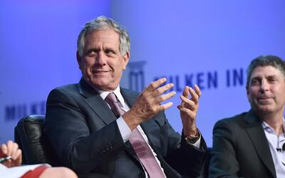 Leslie Moonves, CEO de CBS.