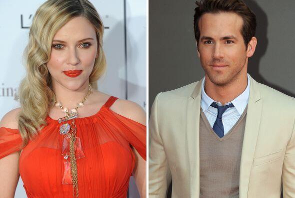 Scarlett Johansson y Ryan Reynolds  Ellos se casaron en septiembre de 20...