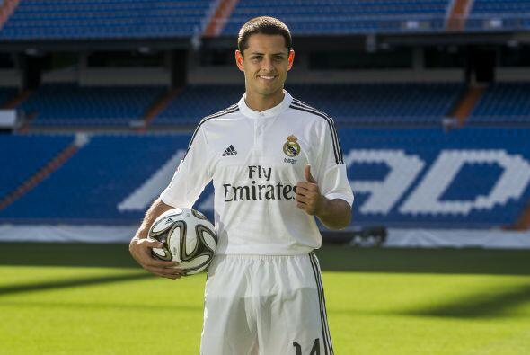El delantero mexicano Javier Hernández tendrá que competir por un puesto...