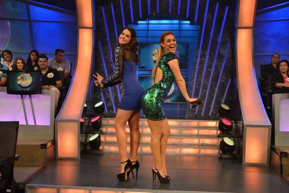 Con poses como esta, junto a Vanessa De Roide, nos han robado el aliento.