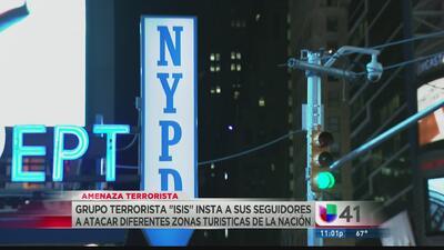 Times Square bajo supuesta amenaza terrorista