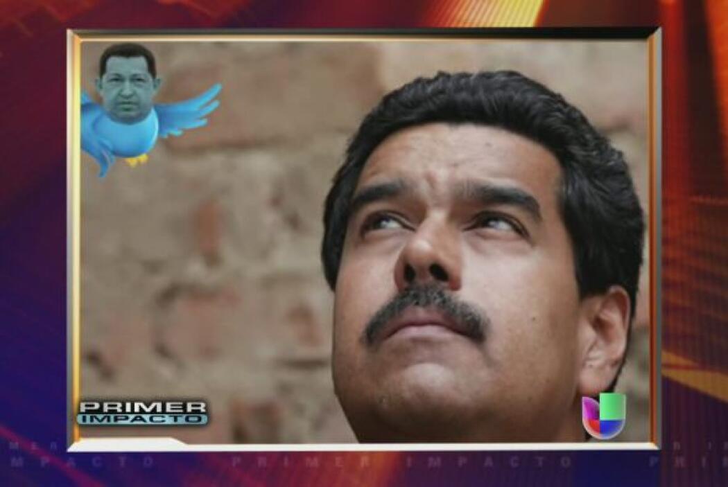 El candidato oficialista venezolano Nicolás Maduro dijo en la casa natal...