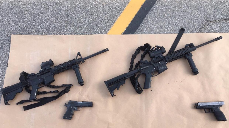 Las armas utilizadas por Farook y Malik en el tiroteo en San Bernardino