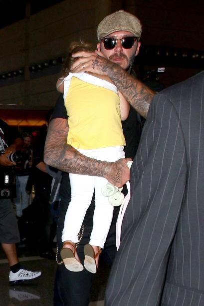 ¡Mira cómo protege a la pequeña Harper! Mira aqu&iac...