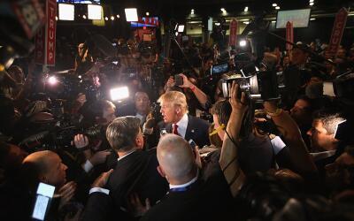 El republicano Donald Trump se ha convertido en el principal generador d...