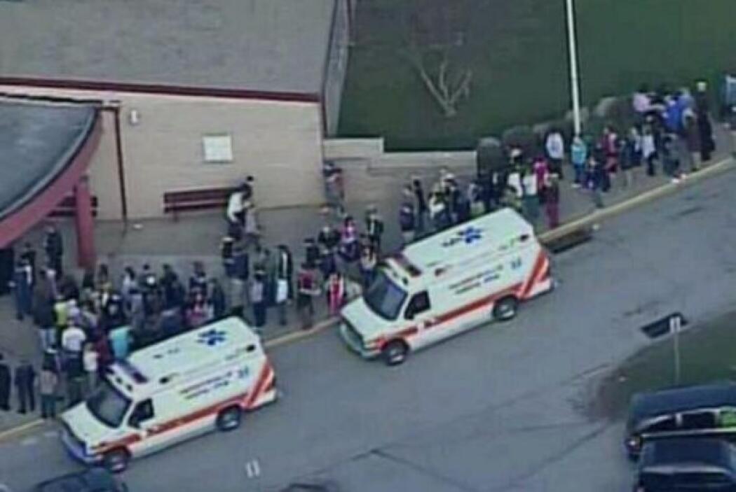 Los cuerpos de rescate y las ambulancias llegaron de inmediato al lugar....