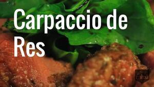 Aprende a preparar un delicioso Carpaccio de res