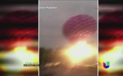 Vacaciones de terror en un globo aerostático