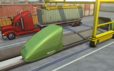 El innovador transbordador de carga eléctrico diseñado por...
