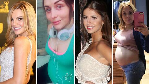 Actrices de telenovela embarazadas 2016