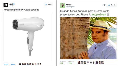 Algunos de los comentarios de los usuarios de Twitter sobre los AirPods.